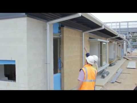True Oak Superior Corrugated | Glenside Hospital Redevelopment Case Study - Revolution Roofing