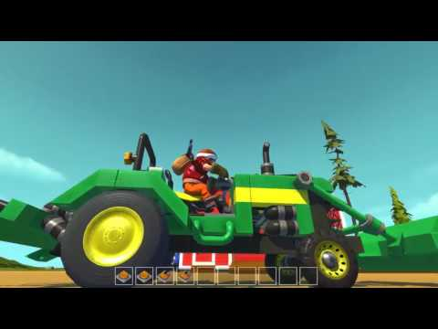 Scrap Mechanic Town  EP 144  Barn & Crop Duster World Download