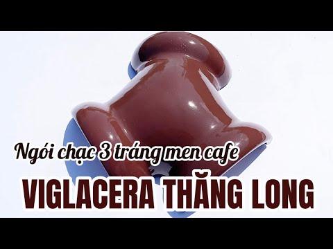 Ngói Ba Chạc Màu Cafe 08 Viglacera Thăng Long Tráng Men   Ngói Tráng Men Cafe Viglacera Thăng Long