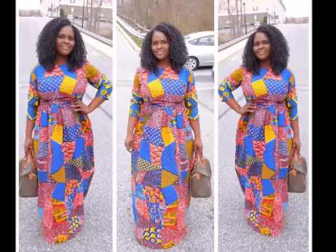 OOTD  Ankara Multicolored Maxi Dress - YouTube 10ce4369e