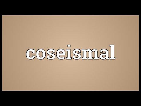 Header of coseismal