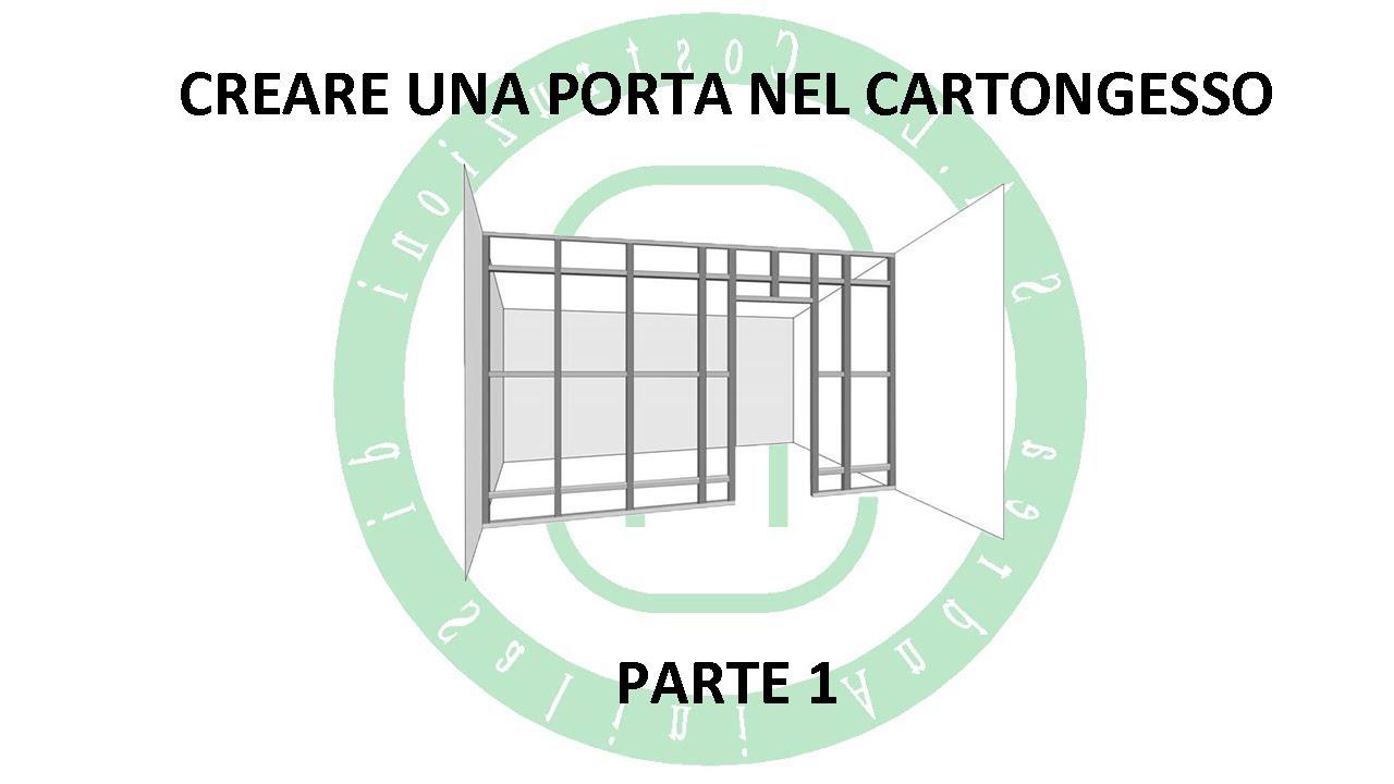 Montaggio Porta Filo Muro Cartongesso creare una porta nel cartongesso - parte 1