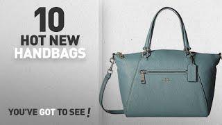 Coach Handbags & Wallets [2018 New Arrivals]: Coach Women's Prairie Satchel Bag Atlantic Leather Bag
