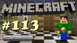 Let's Play Minecraft #113 [Xbox 360] - Dekorations Fail