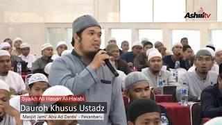Dauroh Khusus Asatidz - Syaikh Ali Hasan Al-Halabi
