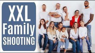 XXL FOTOSHOOTING MIT DER GANZEN FAMILIE 😅 Team Harrison