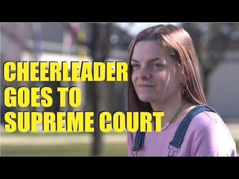 A Cheerleader Defends FREE SPEECH at the Supreme Court