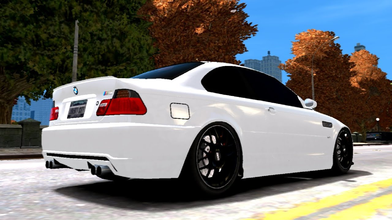 388 2001 BMW M3 e46 Tuning | NEW ! VEHICLE ! GTA IV ! [60 FPS] - YouTube