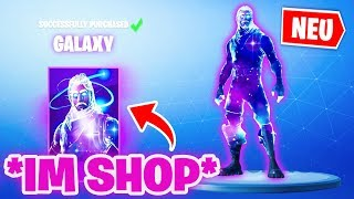 That's why the GALAXY SKIN comes into the SHOP! (very rare) | Fortnite Season 8