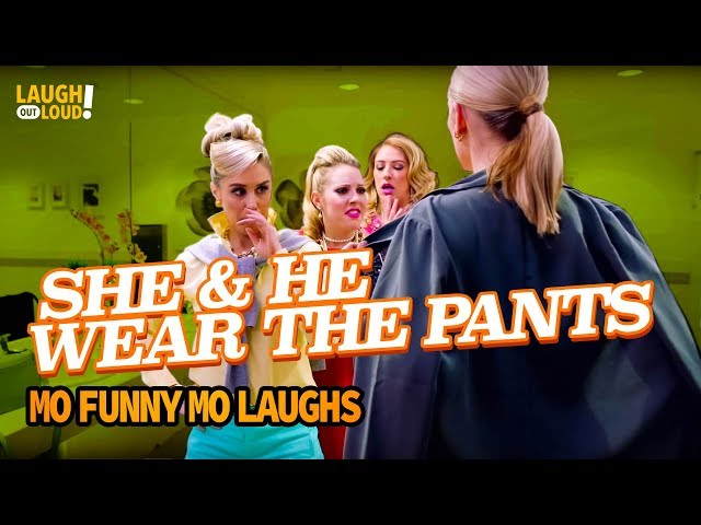 She and he wear the pants    Mo Funny Mo Laughs    LOL Network