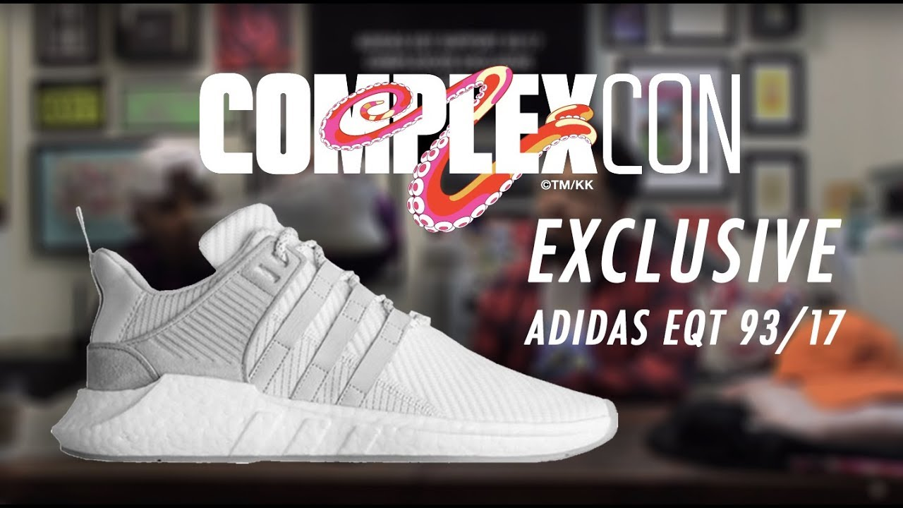 new arrival 0c927 a76c4 Recapping ComplexCon 2017 Unboxing the Adidas EQT 9317 Oddities   Reviewing Pick-Ups  RushHour