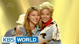 Repeat youtube video Amber & Ailee - Shake That Brass / Uptown Funk [Yu Huiyeol's Sketchbook]