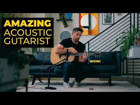 Nathaniel Murphy Performs His Song Rooftop Funk W/ Orangewood Guitars