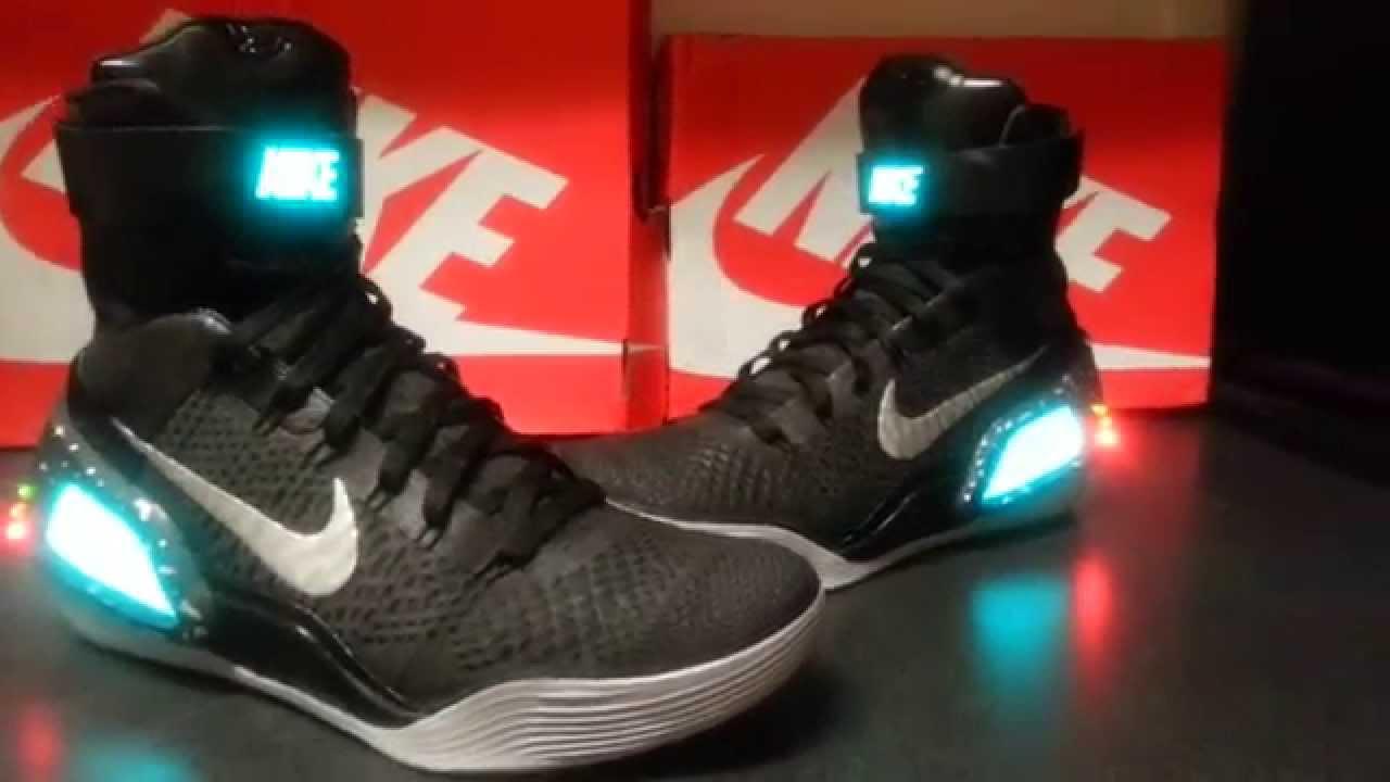 timeless design 91ec8 bba03 Nike Kobe 9 Black Air Mag