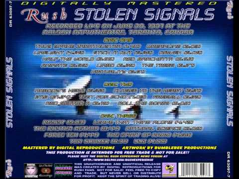 RUSH - STOLEN SIGNALS