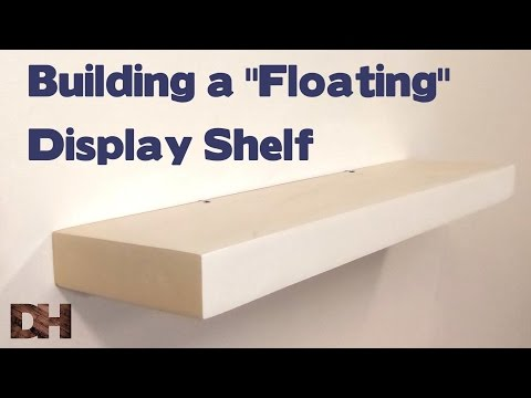 Hide Tv Cables Floating Shelf For Flat Screen Televis