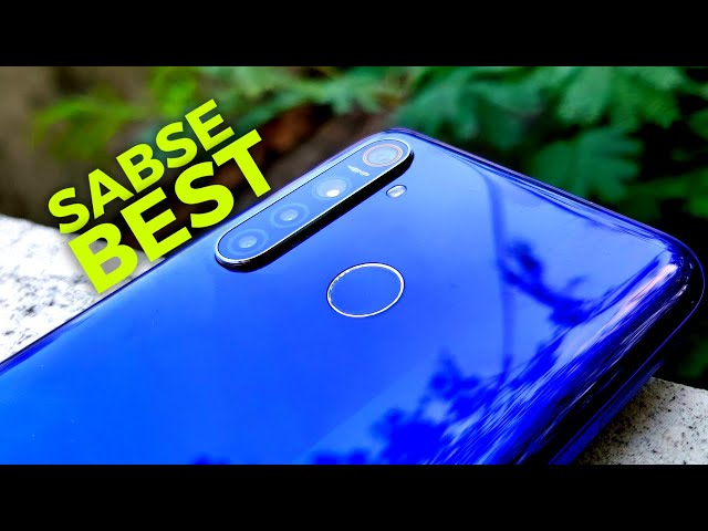 The Best Smartphone in this category ft Realme 5 Pro [Hindi]