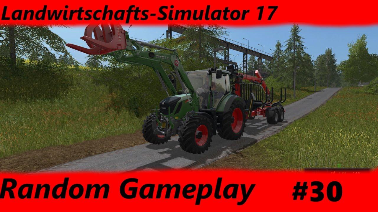 Random Gameplay LS17 30 Baumstumpfe Mit Dem FSI ST 65 T Entfernen