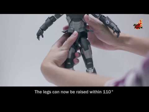 Hot Toys - MMS198D03 - Iron Man 3: War Machine Mark II Articulation Demonstration