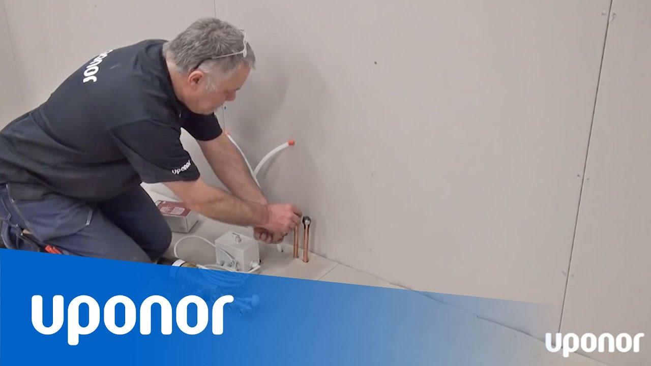 Instruktionsfilm: Uponor ElPush 12 monteras och avluftas - YouTube