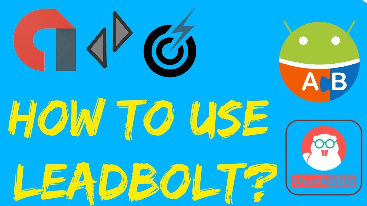 LeatBold || Best Alternative Of Admob || How To Use In Thunkable