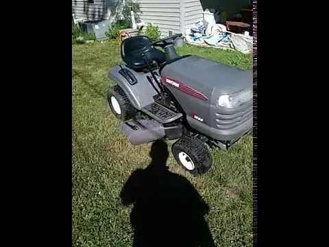 Craftsman Lt1000 Lawn Tractor Adjusting The Fuel Mixture