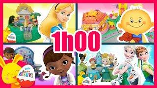 Les meilleures histoires Touni Toys. 1h Compilation Disney Polly Pocket Titounis