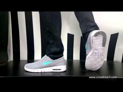 Nike Sb Stefan Janoski Max Grey White