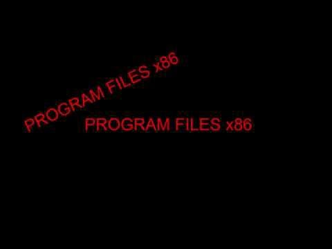 how to delete program files x86