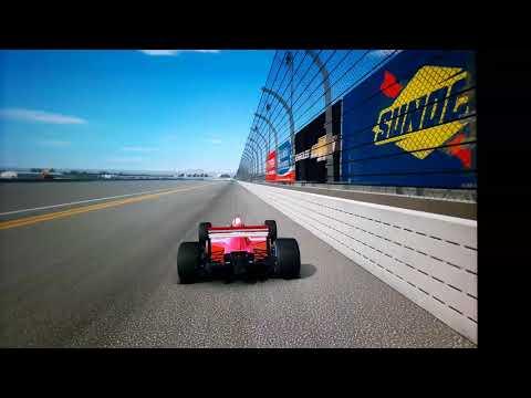 Real Racing 3 McLaren MP4/4 Speed Record @ Daytona 367 Kph