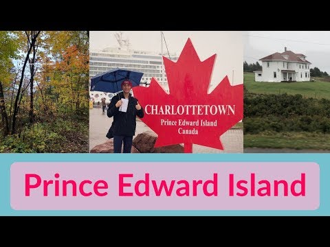 CHARLOTTETOWN Prince Edward Island & Cruise Port L CRUISE VLOG L Ep. 14