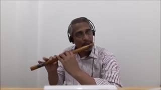 Tujhse Naraaz Nahin Zindagi (Flute on Karaoke)