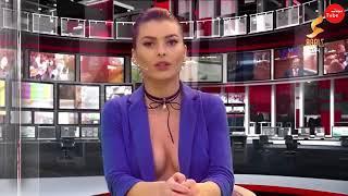 Göğüsleri Açık Haber Sunan Spikerler