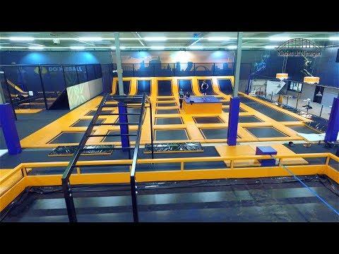 Een kijkje bij nieuw trampolinepark Jumpsquare Nijmegen
