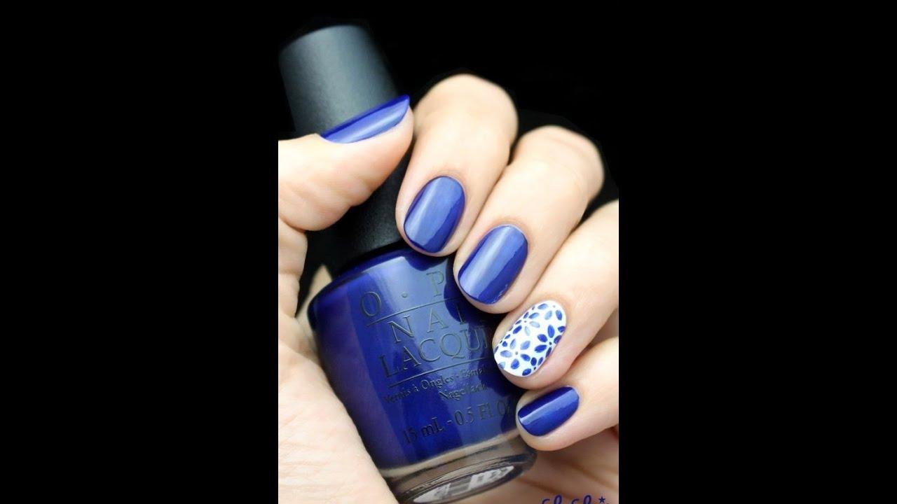 20 Adorable Blue Nail Designs | Top nail art compilation ...