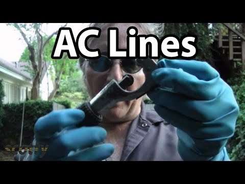 How To Fix Leaking AC Lines In Your Car - YouTube