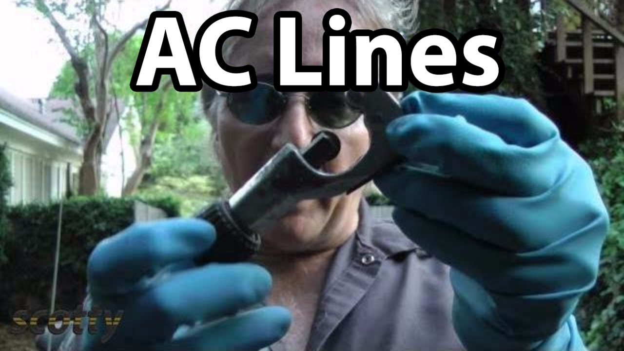 How To Fix Leaking Ac Lines In Your Car Youtube 2002 Mustang Wiring Diagram 1996 Ford Ranger Vacuum