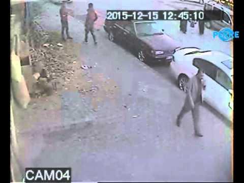 Hırsızlar Güvenlik Kamerasına Takıldılar