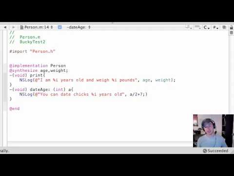 Objective C Programming Tutorial – 26 – How young of a chick can I date?