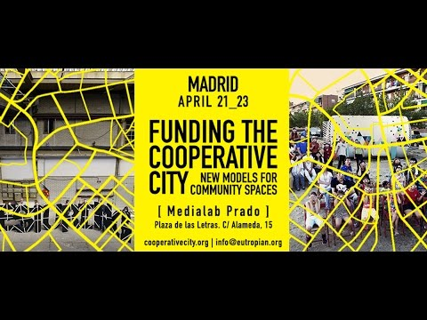 Funding the Coop City - Madrid