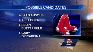 Possible candidates for Red Sox manager