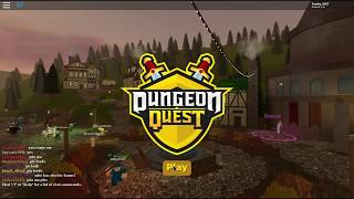 Roblox Dungeon Quest || Playing the nightmare mode of desert temple