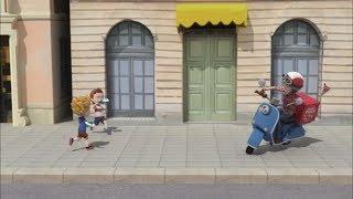 Робокар Поли - Правила дорожного движения (серия 22) - Несоблюдение ПДД на улице