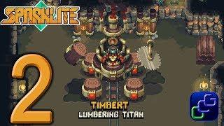 Sparklite PC Walkthrough - Part 2 - Timbert Lumbering Titan