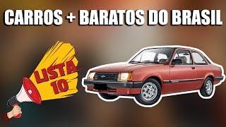 10 CARROS MAIS BARATOS (Menos de R$1.000,00) DO BRASIL