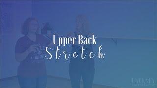 Upper Back Stretch | Hackney Chiropractic | Edmond, OK