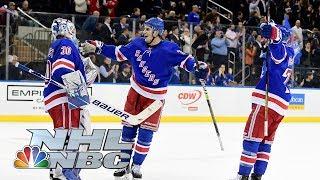 Washington Capitals vs. New York Rangers | CONDENSED GAME | 11/20/19 | NBC Sports