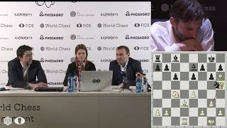 Round 14. Press conference with Kramnik and Mamedyarov