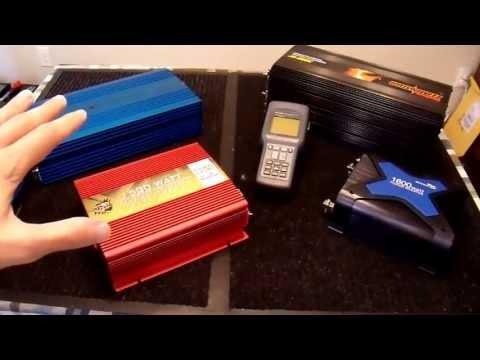 Inverter Waveform THD Comparison Tiger Claw vs Aims vs Modified Sine Wave Inverters