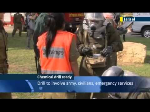 Israel Prepares For Nationwide Chemical Weapons Attack Drill Amid Mounting Syrian Border Tension